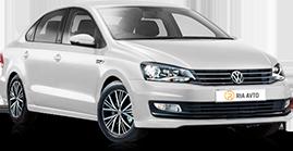 Volkswagen POLO белый