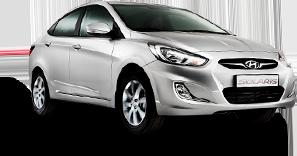 Hyundai Solaris белый